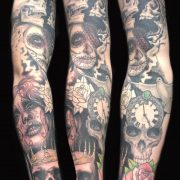 sleeve tattoo, tattoo, studio
