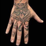 hand tattoo, tattoos for men, tattoos for women, tattoo studio