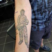 fireman tattoo