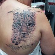 jaguar tattoos, realistic tattoos, animal tattoos.