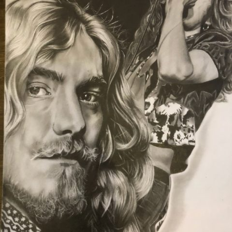 Natasha Jackson,tattoo shop, Barkingside, Illford, piercings, artwork, drawings, commissions, portraits, Led Zeppelin, Robert plant